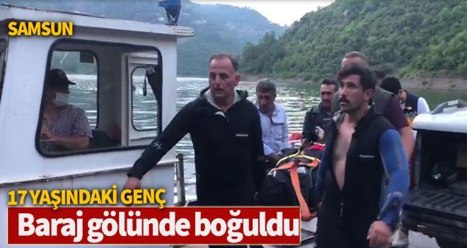 17 Yaşındaki Genç Baraj gölünde boğuldu