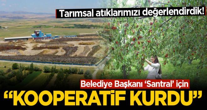 Belediye Başkanı Santral İçin Kooperatif Kurdu