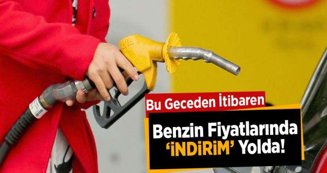 Benzin fiyatlarına indirim yolda