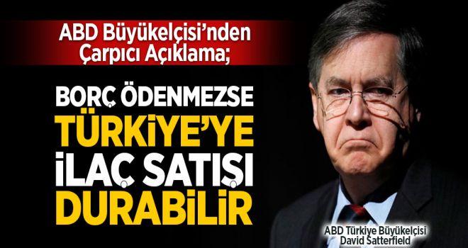 İlaç şirketleri Türkiye'ye satışı durdurabilir!