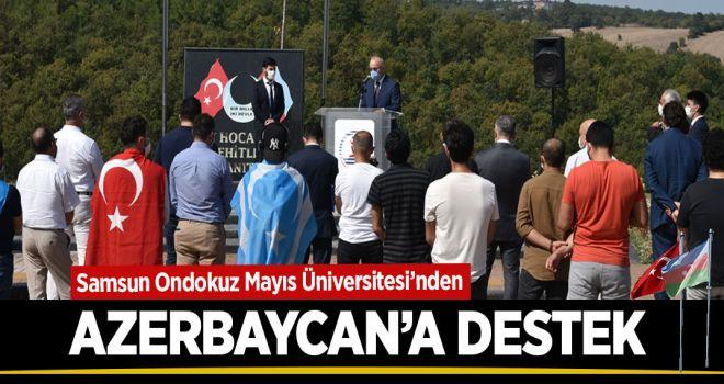 OMÜ'DEN AZERBAYCAN'A DESTEK!