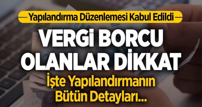 VERGİ BORCU OLANLAR DİKKAT!