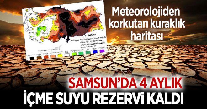 SAMSUN'DA KURAKLIK TEHLİKESİ