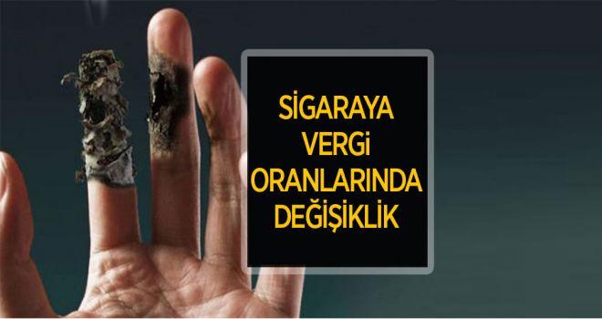 SİGARA DA VERGİ ORANLARINDA DEĞİŞİKLİK!