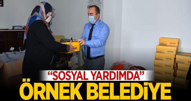 """""""SOSYAL YARDIMDA"""" ÖRNEK BELEDİYE"""