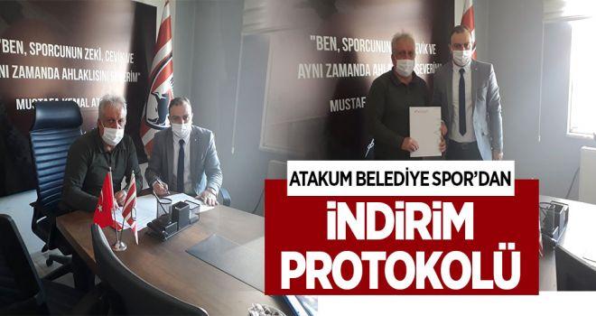 ATAKUM BELEDİYESPOR'DAN ''İNİDİRİM PROTOKOLÜ''