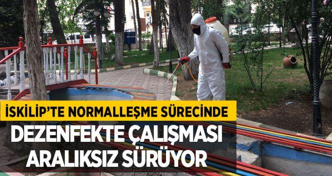 NORMALLEŞME SÜRECİNDE DEZENFEKTE ÇALIŞMASI HIZ KAZANDI