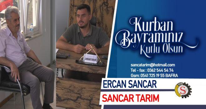 Bafra Sancar Tarım - Erkut Bayii Ercan Sancar'ın Kurban Bayramı Mesajı