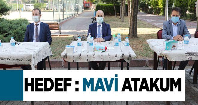 Hedef 'Mavi Atakum'