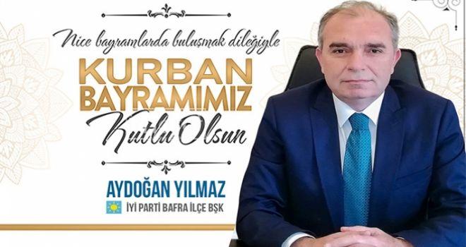 İyi Parti İlçe Başkanı Aydoğan Yılmaz Kurban Bayram Tebriği Kaynak: İyi Parti İlçe Başkanı Aydoğan Yılmaz Kurban Bayram Tebriği