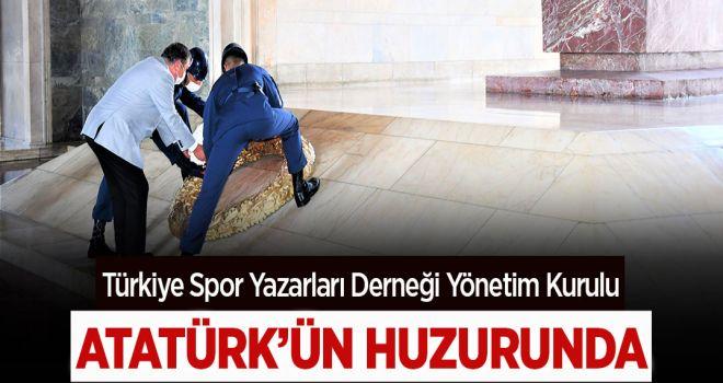 TSYD, Atatürk'ün huzurunda