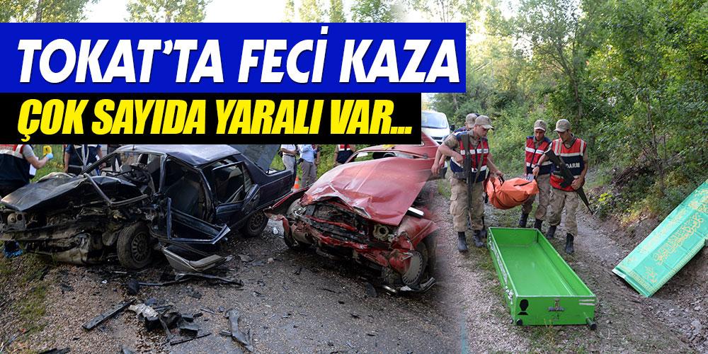 TOKAT'TA FECİ KAZA