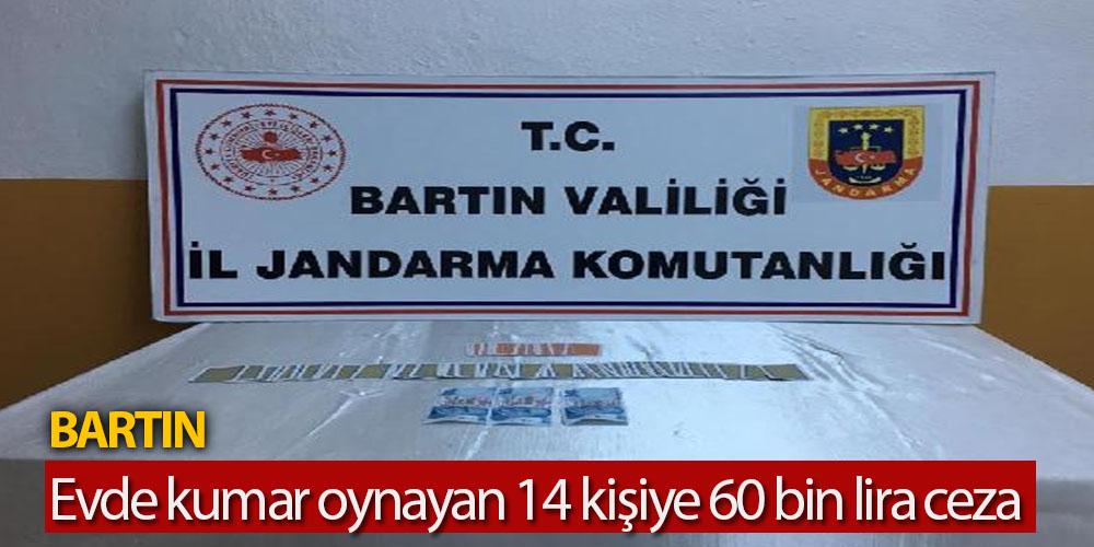 Evde Kumar Oynayan 14 Kişiye 60 Bin Lira Ceza