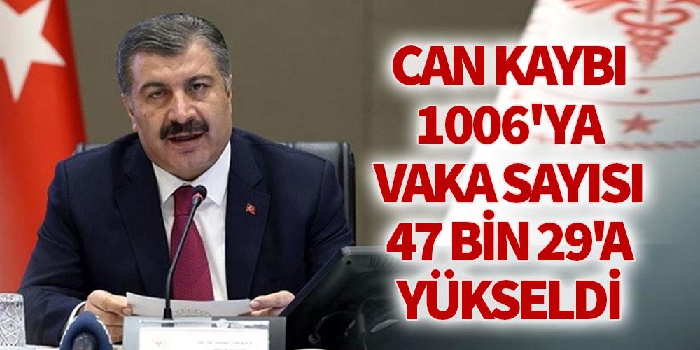 CAN KAYBI 1006'YA VAKA SAYISI 47 BİN 29'A YÜKSELDİ