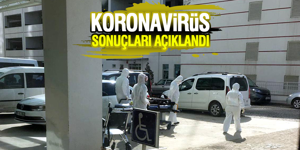 Koronavirüs şüphesi bulunan 2 kişinin sonuçları açıklandı
