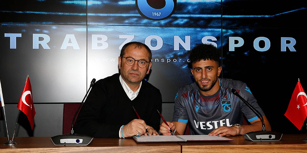Trabzonspor'da Bilal Başacıkoğlu için imza töreni