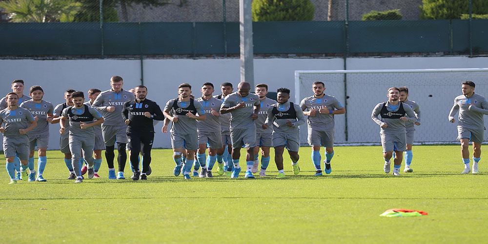 Trabzonspor, Krasnodar maçı için taktik çalıştı