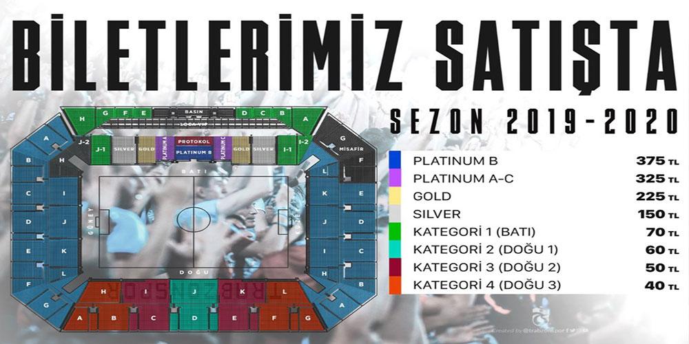 Trabzonspor'un Alanyaspor maçı biletleri satışta