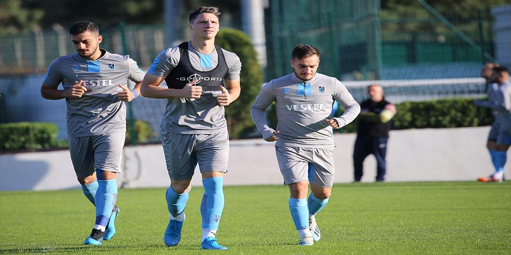 Trabzonspor, Krasnodar maçı hazırlıklarına başladı