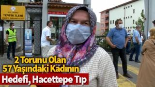 2 torunu olan 57 yaşındaki kadının hedefi, Hacettepe Tıp