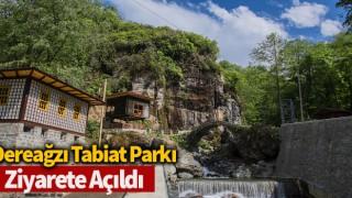 Dereağzı Tabiat Parkı ziyarete açıldı