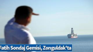 Fatih Sondaj Gemisi, Zonguldak'ta