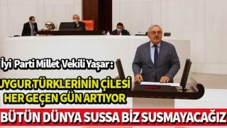 Bedri Yaşar ; BÜTÜN DÜNYA SUSSA BİZ SUSMAYACAĞIZ