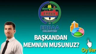 Erbaa Belediye Başkanından Memnun musunuz