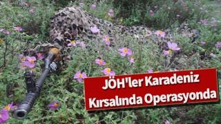 JÖH'ler Karadeniz kırsalında operasyonda