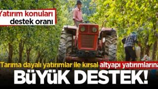 Kırsal kalkınma yatırımlarına büyük destek!