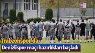Trabzonspor'da Denizlispor maçı hazırlıkları başladı