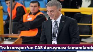 Trabzonspor'un CAS duruşması tamamlandı