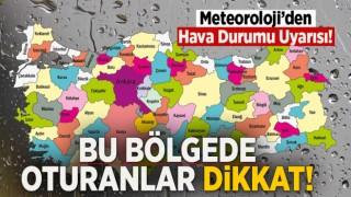 Meteoroloji uyardı! Karadeniz Dikkat