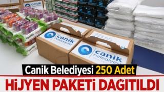 CANİK'TEN HİJYEN PAKETİ
