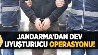 Jandarma'dan Dev Uyuşturucu Operasyonu