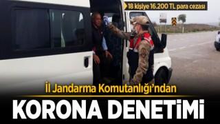 Jandarma'dan Korona Denetimi