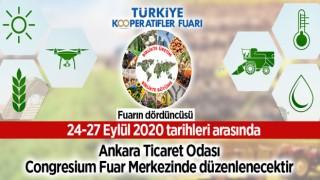 Türkiye Kooperatifler Fuarının Dördüncüsü Düzenlenecektir