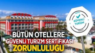 KONAKLAMA TESİSLERİNE SERTİFİKA ZORUNLULUĞU GETİRİLDİ!