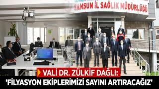 VALİ DR. ZÜLKİF DAĞLI:'FİLYASYON EKİPLERİMİZİ SAYINI ARTIRACAĞIZ'