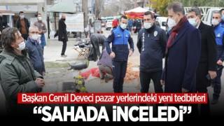 Atakum Belediyesi Pazar Yerlerinde Önlemleri Artırdı