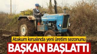 Atakum Belediyesi Yeni Üretim Sezonuna İki Çeşit Buğdayla Başladı