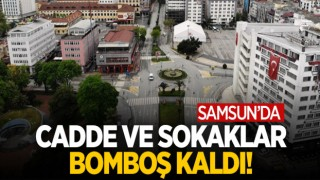 SAMSUN BOMBOŞ KALDI!