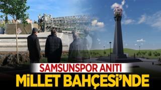 SAMSUNSPOR ANITI, MİLLET BAHÇESİ'NDE