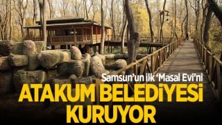 Samsun'un ilk 'Masal Evi'ni Atakum Belediyesi kuruyor