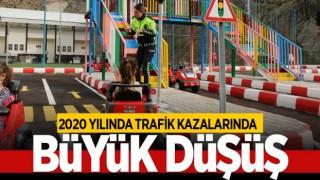 2020 YILINDA TRAFİK KAZALARINDA BÜYÜK DÜŞÜŞ