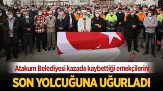 Atakum Belediyesi Kazada Kaybettiği Emekçilerini Son Yolculuğuna Uğurladı