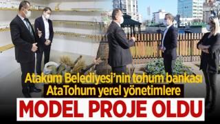 Atakum Belediyesi'nin Tohum Bankası AtaTohum Yerel Yönetimlere Model Proje Oldu
