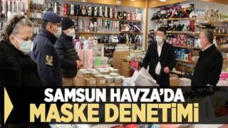 HAVZA'DA MASKE DENETİMİ