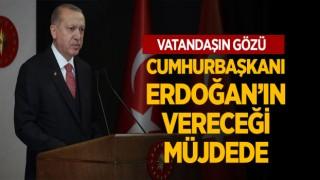 Vatandaşın Gözü Cumhurbaşkanı Erdoğan'ın Vereceği Müjdede