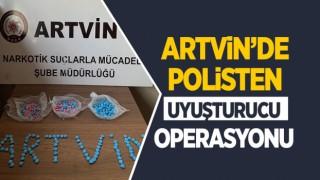 Artvin'de Polisten Uyuşturucu Operasyonu